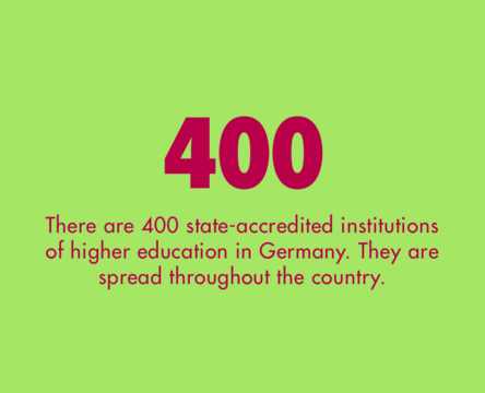 400 institutions of higher education
